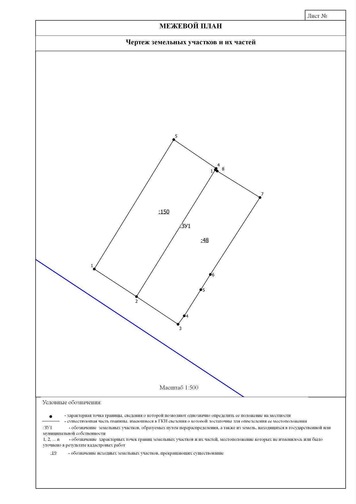 Как сделать раздел земельного участка